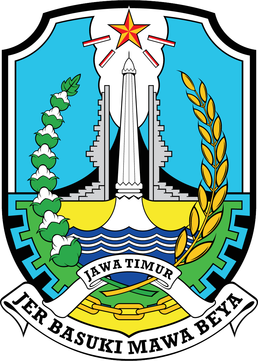 Logo Propinsi Jawa Timur transparent background