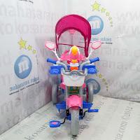 Family F823AT Rio Musik Dobel Pesawat Ban Jumbo Sepeda Roda Tiga