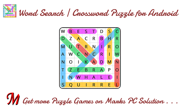 Solve Crossword Puzzle on your Android Device