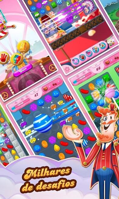 Candy Crush Saga v 1.180.0.1 apk mod DESBLOQUEADO