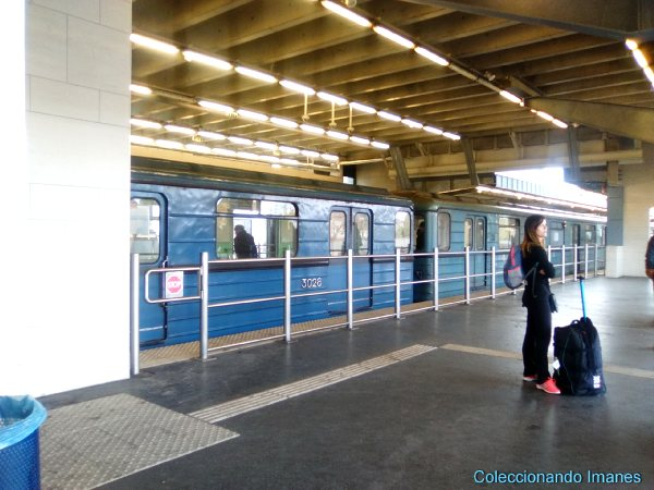 Metro del aeropuerto de Budapest al centro
