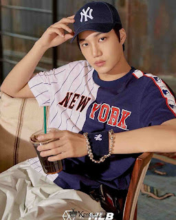 Foto Keren Kai EXO memakai topi