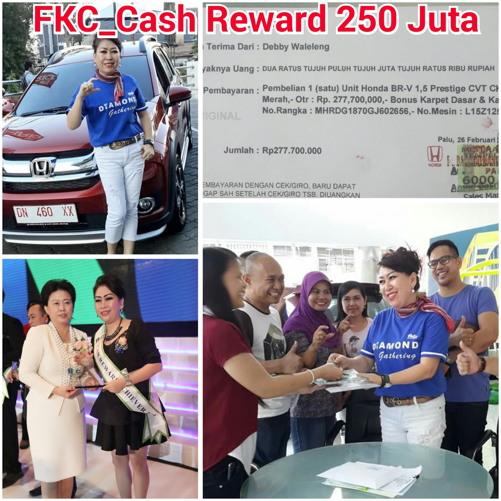 Bisnis Fkc Syariah - Reward Debby Waleleng
