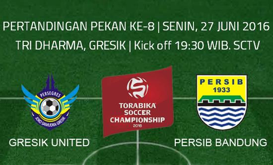 Gresik United vs Persib