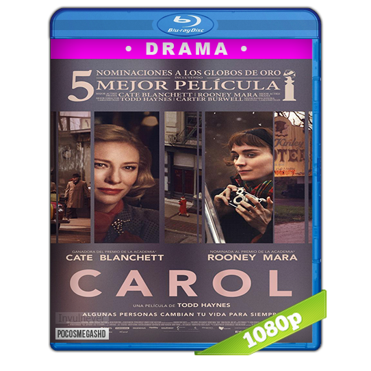 Carol (2015) BRRip 1080p Audio Dual Latino-Ingles