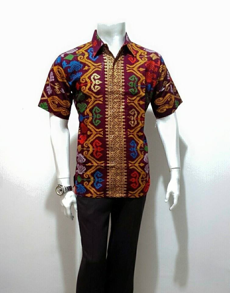 Batik Bagoes Solo Baju Batik Pria Modern Etnic