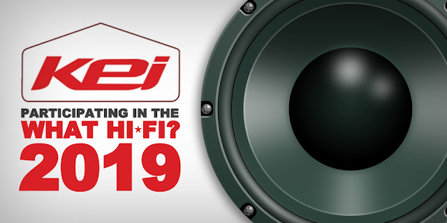 KEI – Participating in the What Hi-Fi Show 2019
