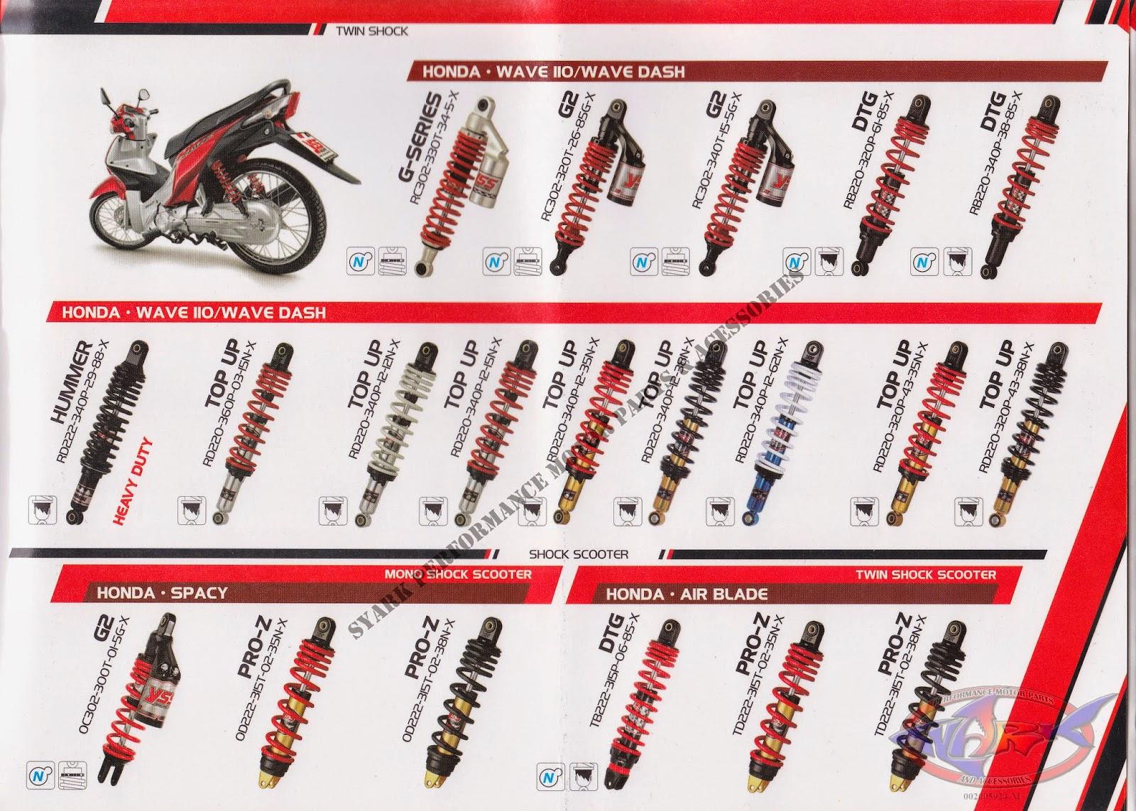 Catalog Part Yamaha Jupiter Mx