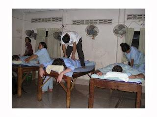 thailändische Blindenmassage
