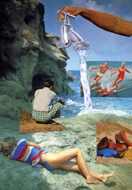 Paper collage made for Los Dias Contados