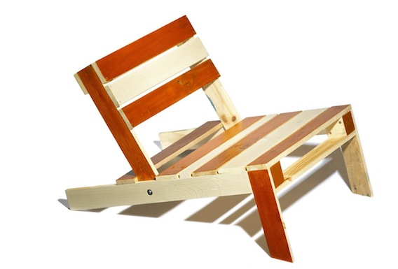 Make your own pallet chair   YOUR HOME IS LOVELY