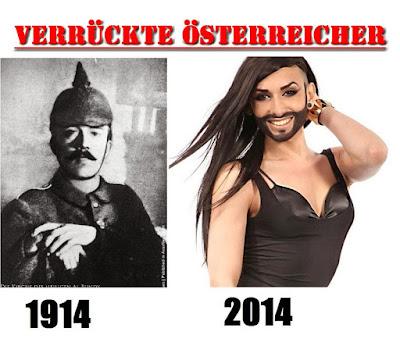 Verrückte Österreicher damals und heute - vor hundert Jahren lustig