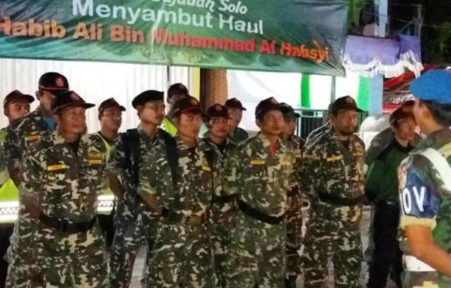 700 Personel Banser Disiagakan pada Haul Habib Ali Shahibu Simtuddurar Solo