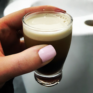 Tiny pint of beer, Guinness Storehouse Dublin