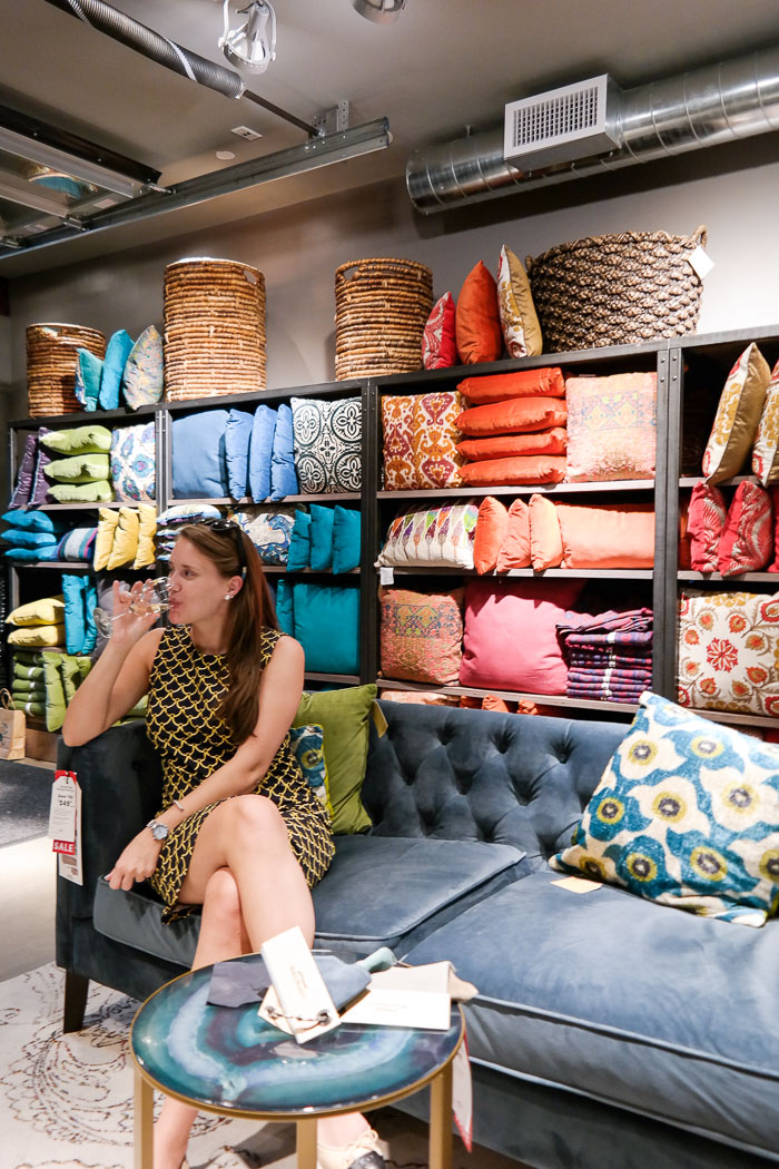 Krista Robertson, Covering the Bases, Travel Blog, NYC Blog, New York & Company, Preppy Blog, Fashion Blog, Travel, Fashion Blogger, World Market, Home Decor, How to Decorate your couch, Decorative Pillows, Interior design