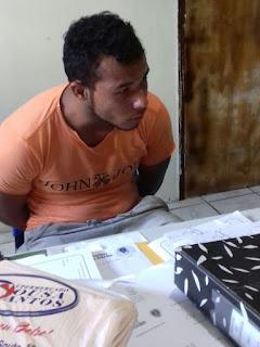 Guarnição policial cumpre mandado de prisão no município de Cubati