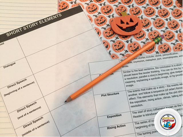 6 Halloween Ideas Resources For Your English Language Arts Class