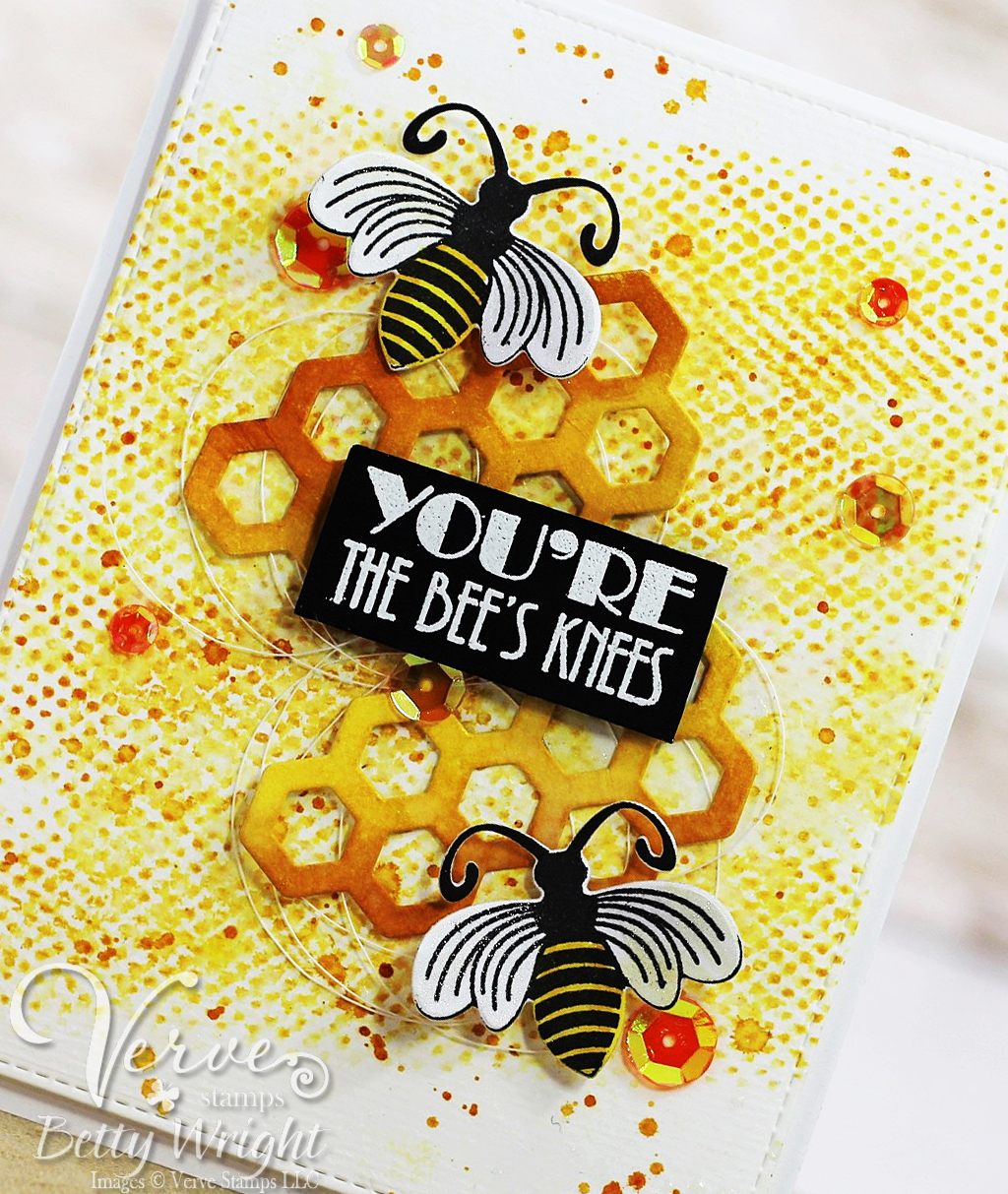 crafting with betty you u0027re the bee u0027s knees