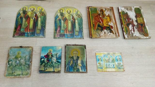 Θεσπρωτία: Στον Εισαγγελέα οδηγούνται τα δύο άτομο που έκλεβαν εικόνες από ναούς