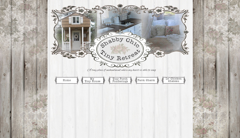 Valentine design custom blog design custom blog for Shabby chic blog italiani