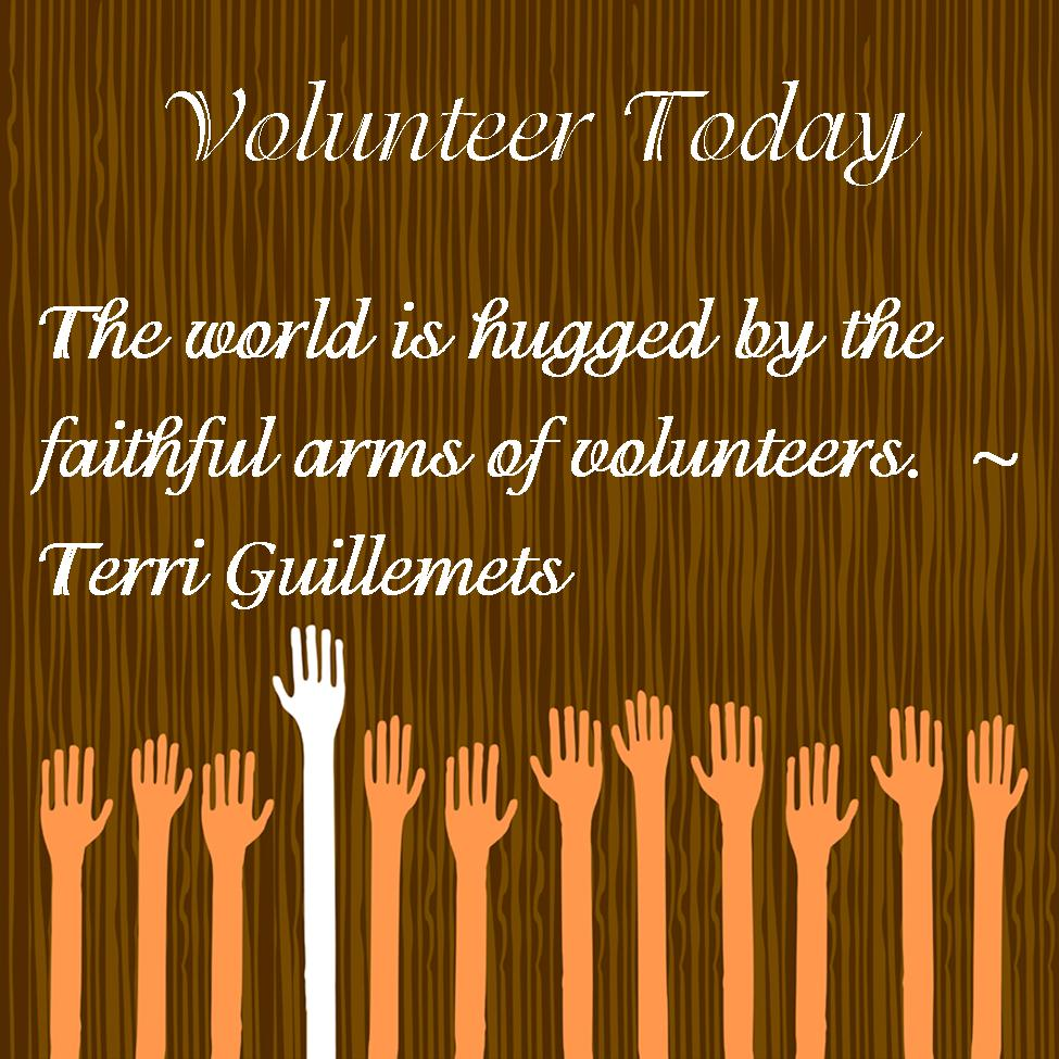 Meaningful Quotes About Volunteering. QuotesGram