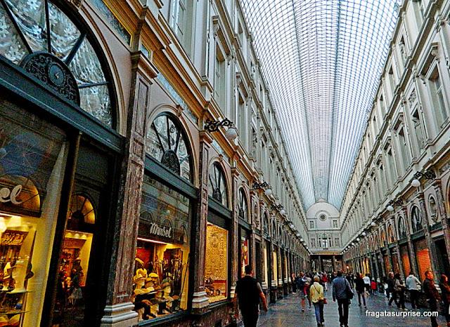 Galerias Saint-Hubert, Bruxelas