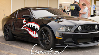 Ford Mustang Monster Graphics