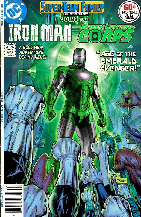 Super Team Family The Lost Issues Iron Man Joins The Green Lantern Corps