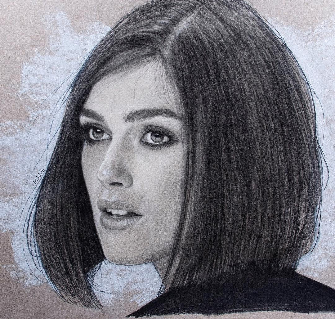 06-Keira-Knightley-Justin-Maas-Pastel-Charcoal-and-Graphite-Celebrity-Portraits-www-designstack-co