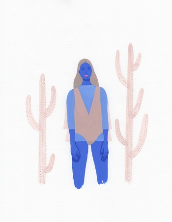 """Between Cacti"" por Monica Garwood 