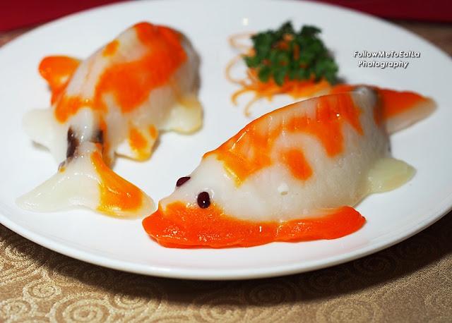 Tai Zi Heen's Exquisite Nian Gao In Koi Fish Shaped