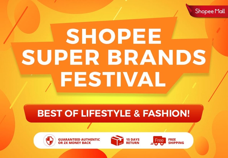 Shopcoupons, Shopee Malaysia, Online Shopping, Shopee Super Brand Festival, Rawlins Shops, Best Deals Online