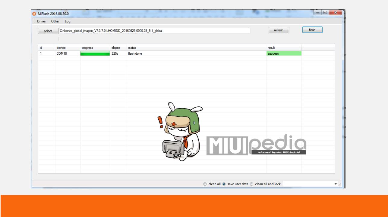 Cara Mudah Step by step sukses flash ROM XIOMI menggunakan MIFlashtool