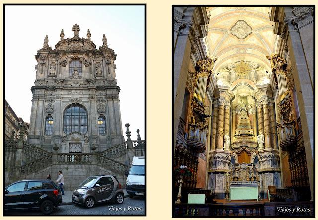 Iglesia de los Clérigos, Oporto