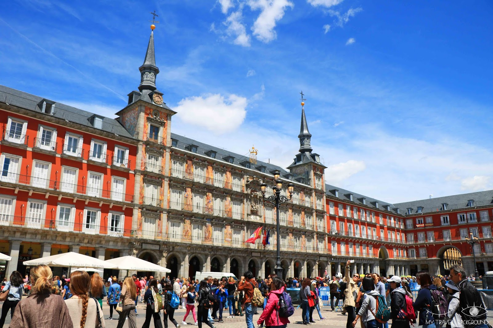 My Travel Background : Cartes Postale Espagne - Madrid