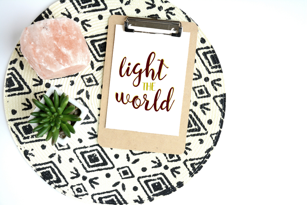 Christmas Printable Light the World