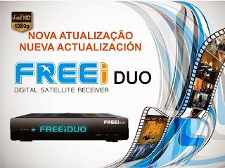 FREESKY - NOVA ATUALIZAÇÃO DA MARCA FREESKY 0ACT+FREEI+DUO