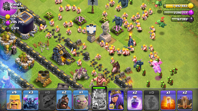 Tải gameClash of Clans Mod cho Android