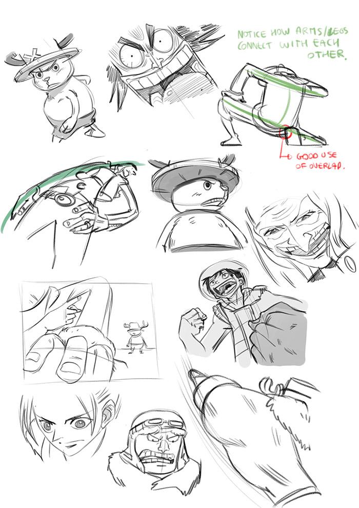 Let's Animate: STUDY: One Piece