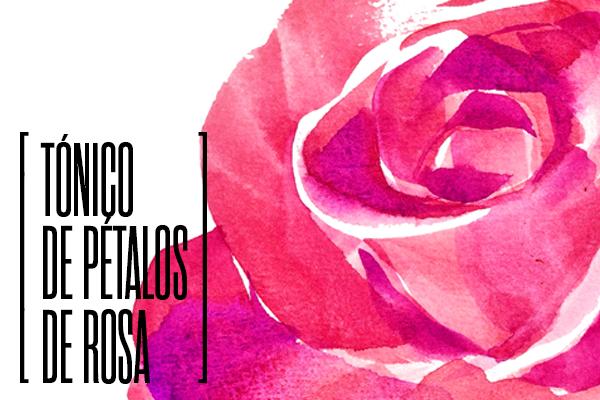 tónico pétalos de rosa