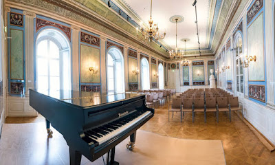 Empiresaal at Schloss Esterházy, Eisenstadt (Photo Lennard Lindner)
