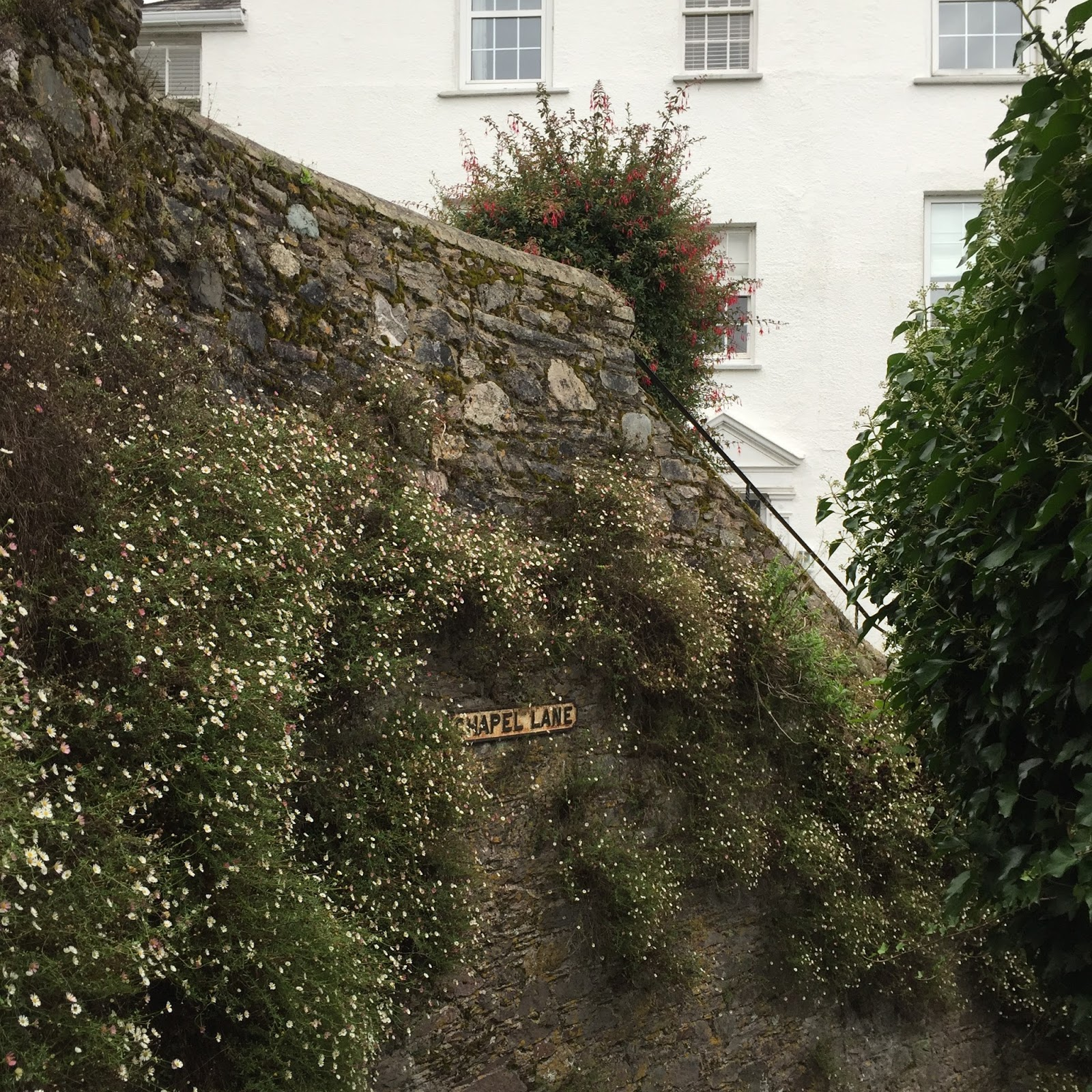 Chapel Lane Dartmouth stairs