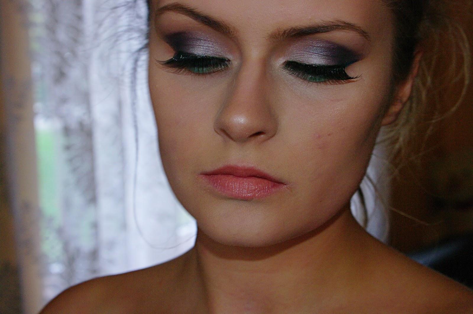 Makijaż Dla Niebieskich Oczu Srebro Niebieski Blog Makijaż