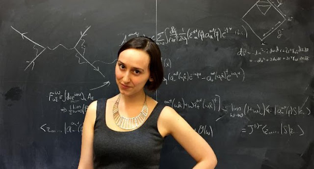 HARVARD THINKS IT'S FOUND THE NEXT EINSTEIN - AND SHE'S 23