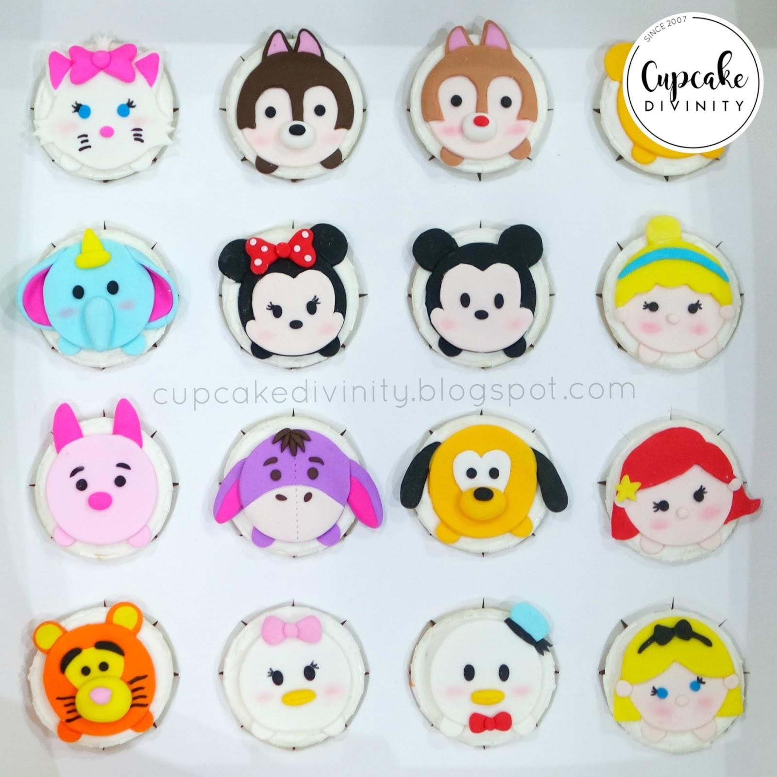 Cupcake Divinity Disney Tsum Tsum Cupcakes