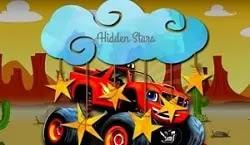 Canavar Kamyon Gizli Yıldızlar - Monster Truck Hidden Star