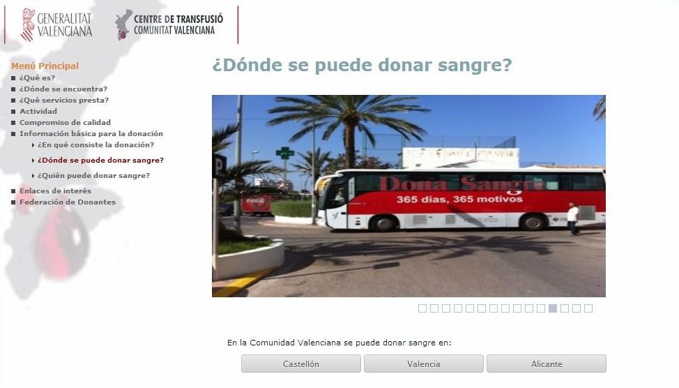 ¿Dónde puedo donar sangre?