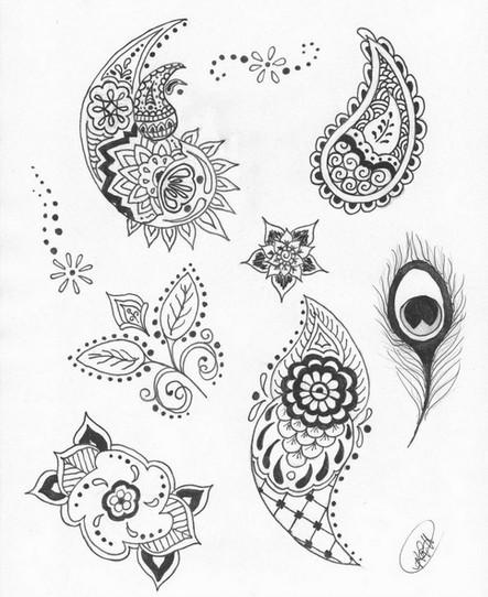 Henna Tattoo Meaning Henna Tattoos