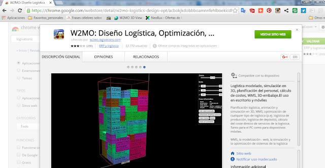 WMS con capacidad de simular en 3D