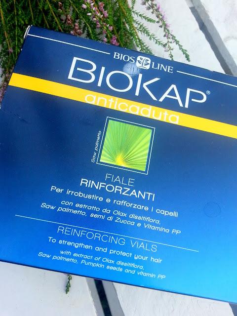 Biokap, ampułki przeciw wypadaniu włosów